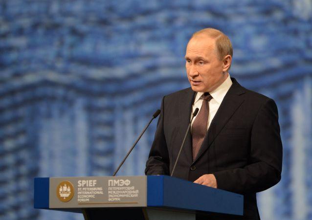 普京:2016年俄大公司将向中小型企业下达1万亿卢布订单