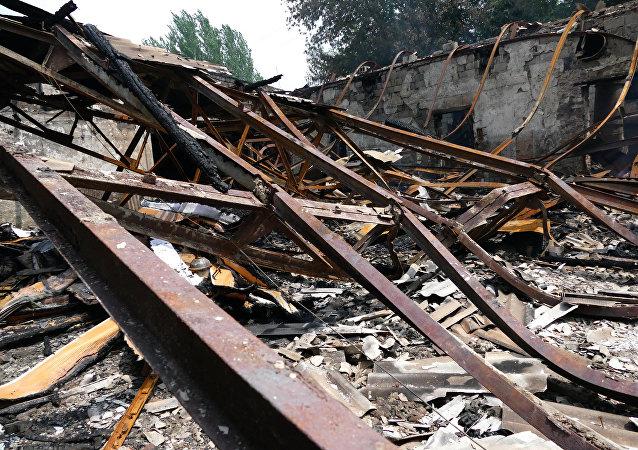 聯合國記錄下了一年內在頓巴斯地區的人員傷亡數量最多情況