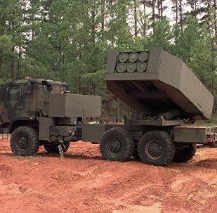 美國M142 HIMARS(High Mobility Artillery Rocket System)自行火箭炮