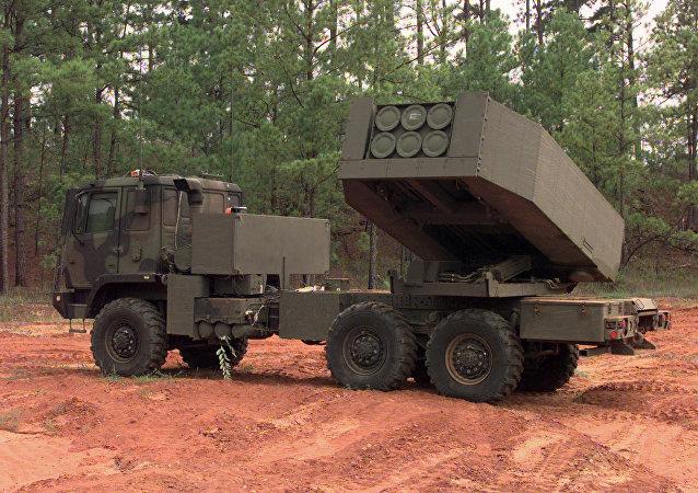 美国M142 HIMARS自行火箭炮