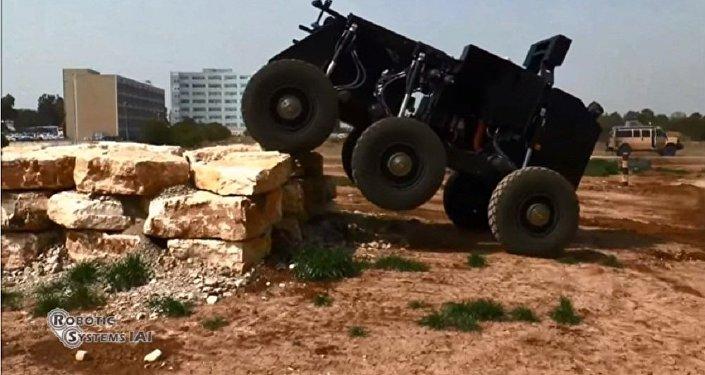 以色列展出新型全能机器人坦克