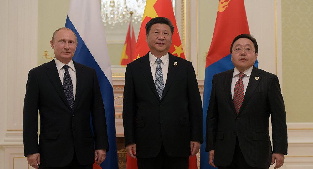 俄中蒙總統