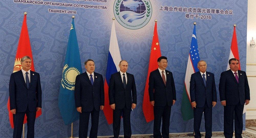 上海合作組織成員國元首理事會通過《塔什乾宣言》