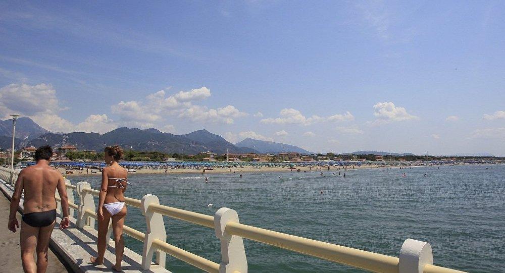意大利海邊
