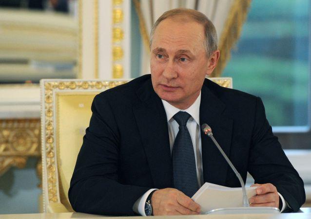 普京:俄从未对英国脱欧施加影响