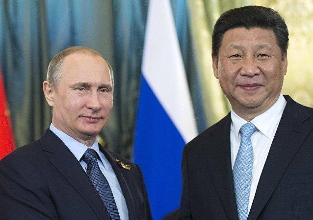 普京:制裁与俄中关系彼此毫不相干