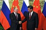 普京:俄中对国际问题的看法相近或几乎一致