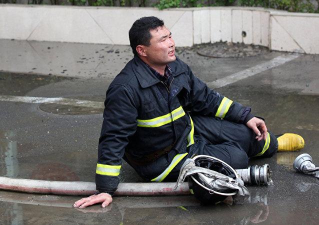哈尔滨一家温泉酒店发生火灾 已初步确定18人死亡