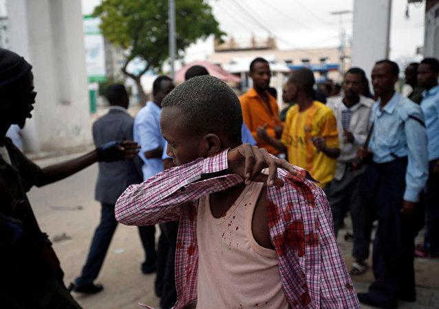 索馬里旅館遭攻擊(資料圖片)