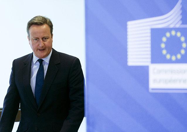 卡梅倫希望英國退歐後雙方能在貿易和安全領域保持緊密關係