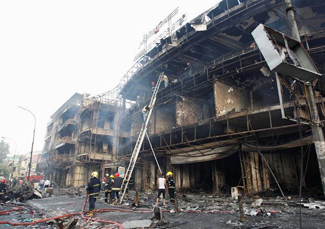 媒體:巴格達市中心的爆炸造成10死21傷