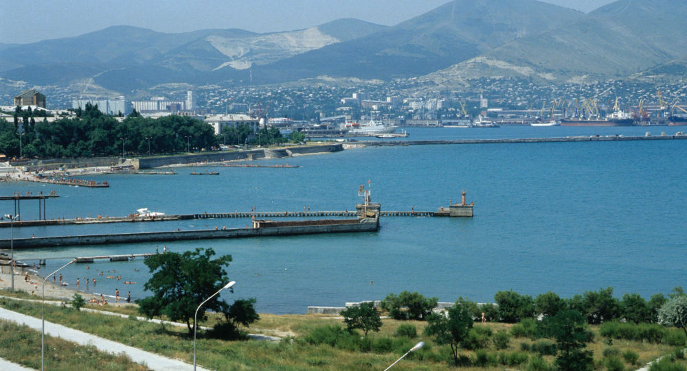诺沃罗西斯克港,黑海(资料图片)