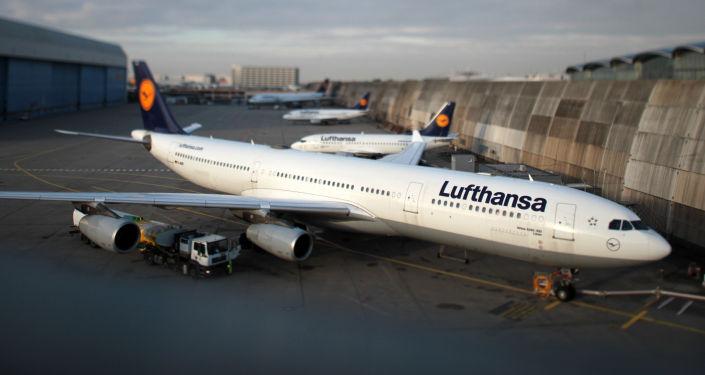 德国汉莎航空公司一架