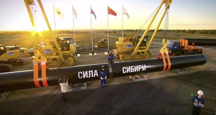俄中兩國欲在年內結束有關西線供氣的談判