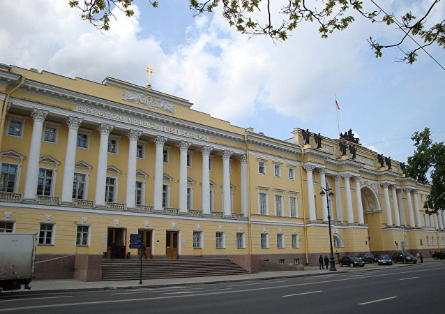 俄罗斯圣彼得堡叶利钦总统图书馆
