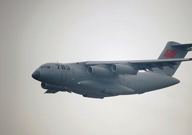 中国国防部:中国空军运-20飞机首次开展空降空投训练