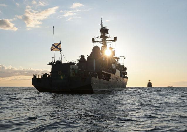 """俄罗斯""""智者雅罗斯拉夫""""号护卫舰"""