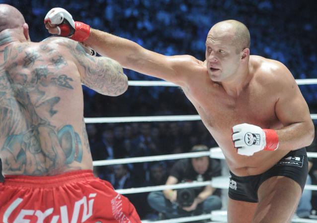 媒體:巴西認為俄羅斯人艾米連科是世界最強格鬥家