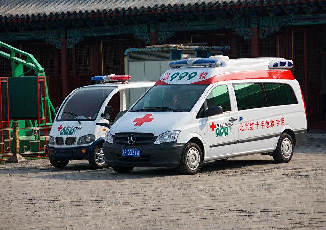 华媒:北京一大厦发生大面积坍塌 1人被送医