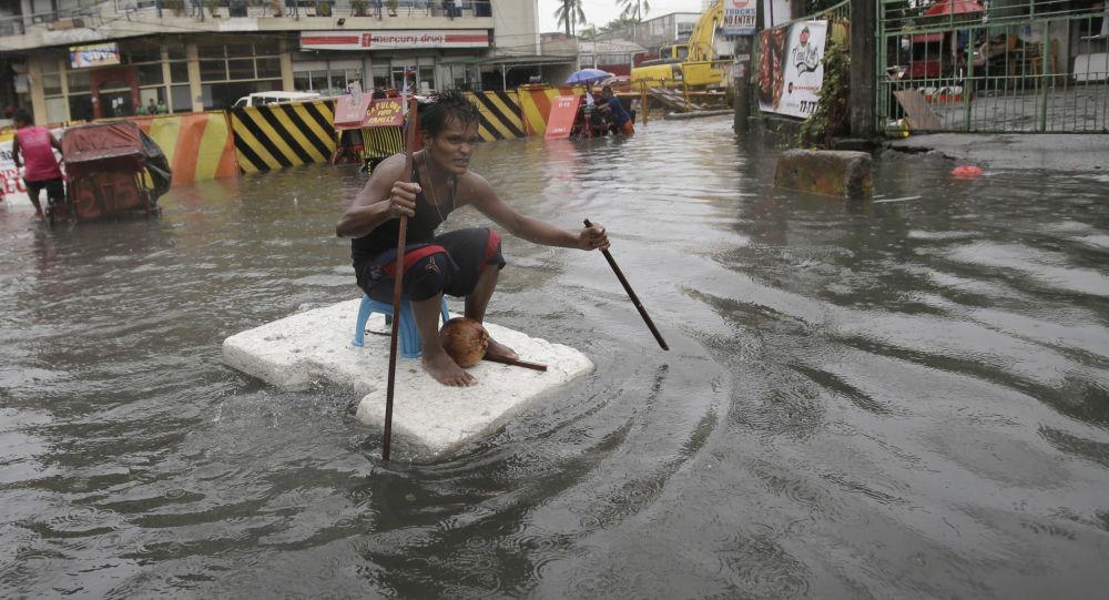 中國外交部:中國紅十字會將向菲律賓颱風受災地區提供10萬美元援助