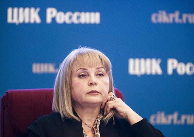 中央選舉委員會主席帕姆菲洛娃