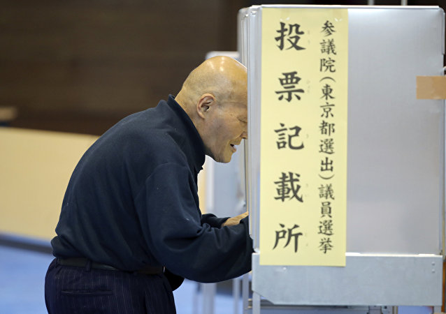 出口民調:聯合執政黨贏得日本議院上院選舉