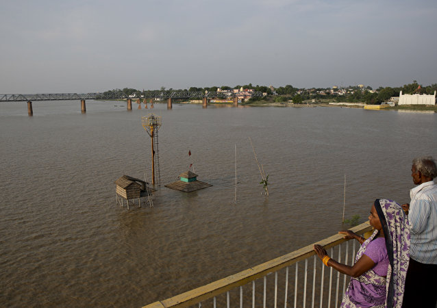 印度邮局开始出售恒河圣水