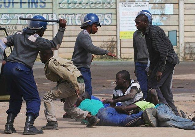 津巴布韦警方(图片资料)
