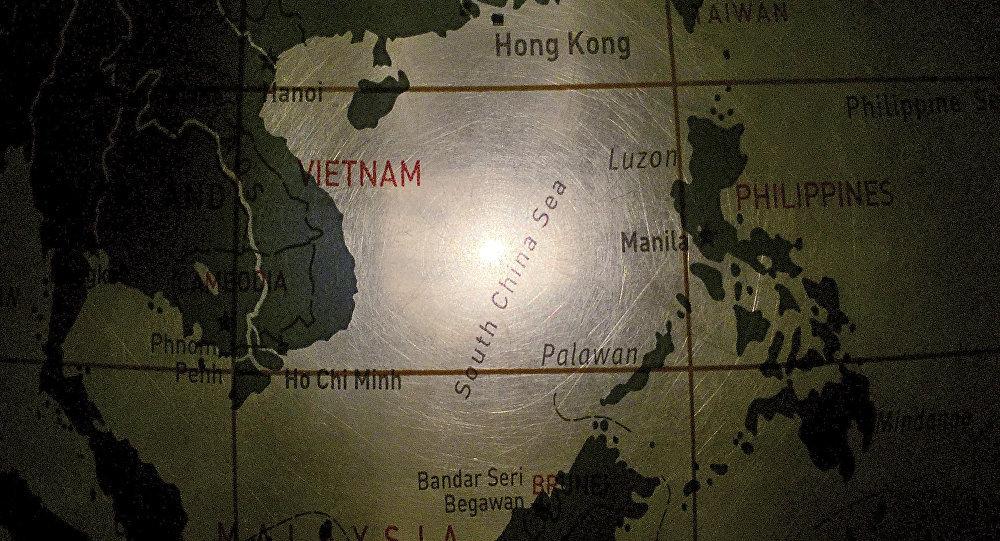 五國在南海舉行聯合軍事演習