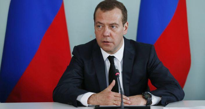 俄羅斯總理梅德韋傑