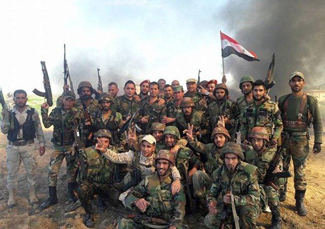 叙利亚军队坚守金沙巴市