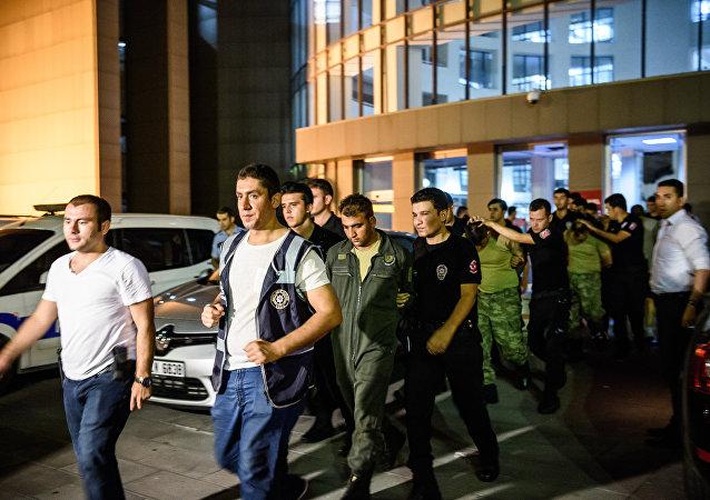 土耳其釋放一千餘名因未遂政變被捕的人員