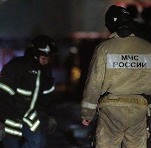 俄罗斯消防队员