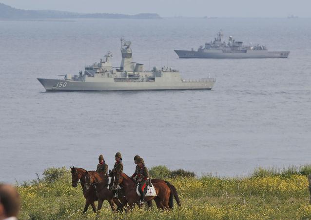 土耳其在黑海修建海军基地