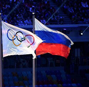 國際奧委會、俄羅斯國旗