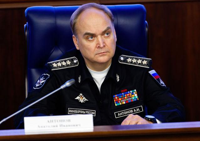 普京任命安东诺夫为俄副外长解除其副防长职务