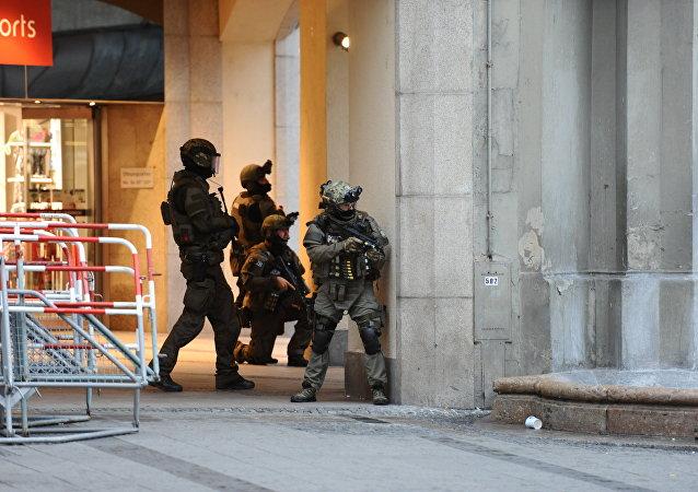 慕尼黑槍擊事件罪犯為一名18歲的伊朗人