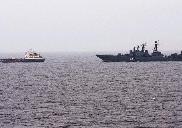 北方艦隊100多艘軍艦在演練期間駛入巴倫支海和白海