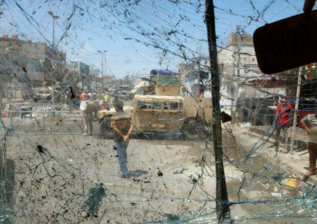 消息人士:巴格達恐怖襲擊案導致6人死亡18人受傷
