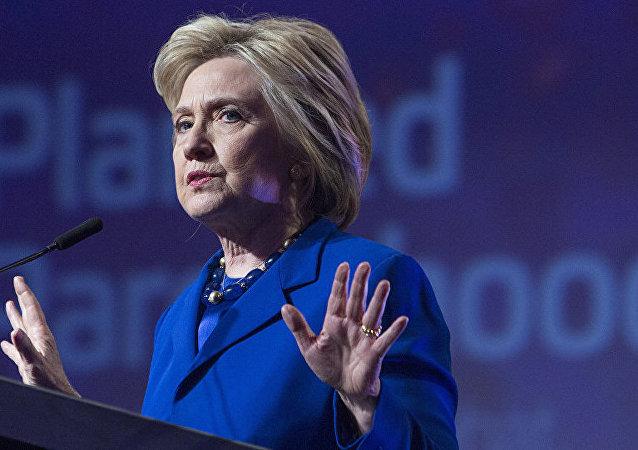美國前總統候選人希拉里∙克林頓