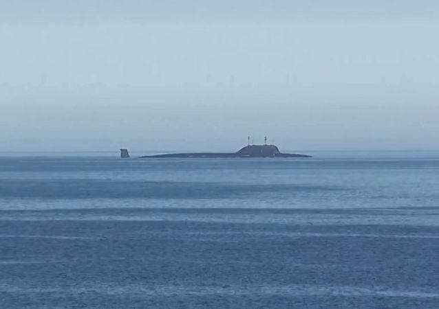 「北德文斯克」號多功能核潛艇