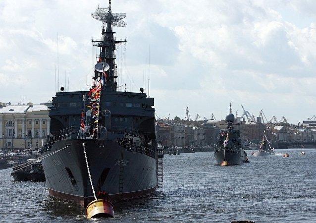 克里姆林宮:普京打算在聖彼得堡出席海軍日慶祝活動