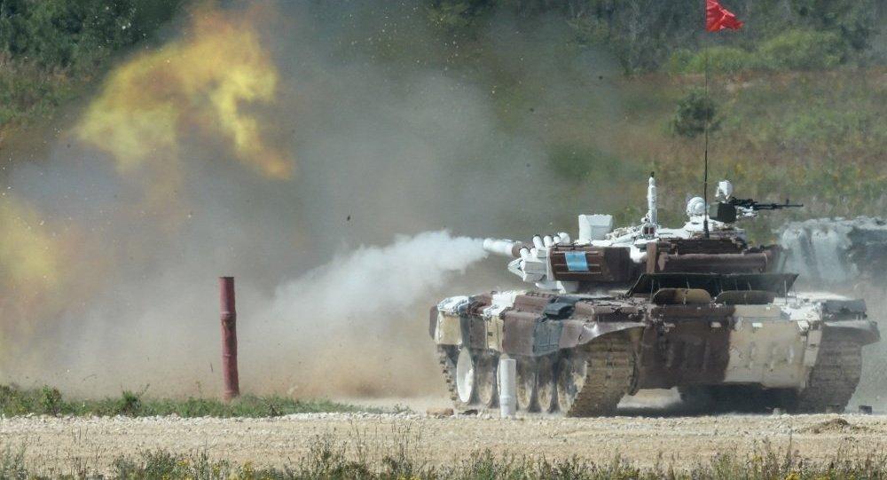 俄羅斯、哈薩克斯坦與中國在國際軍事比賽-2016中領先