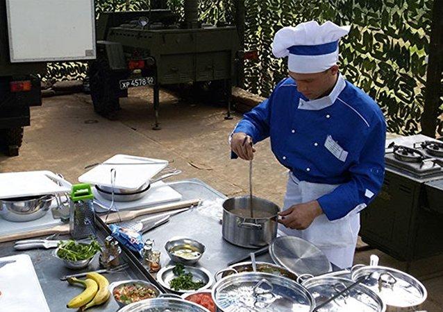 中國廚師在「佔地廚房」國際競賽中領先