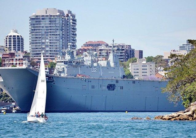 韓國和澳大利亞將舉行聯合海上軍演