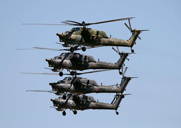 直升機米-28