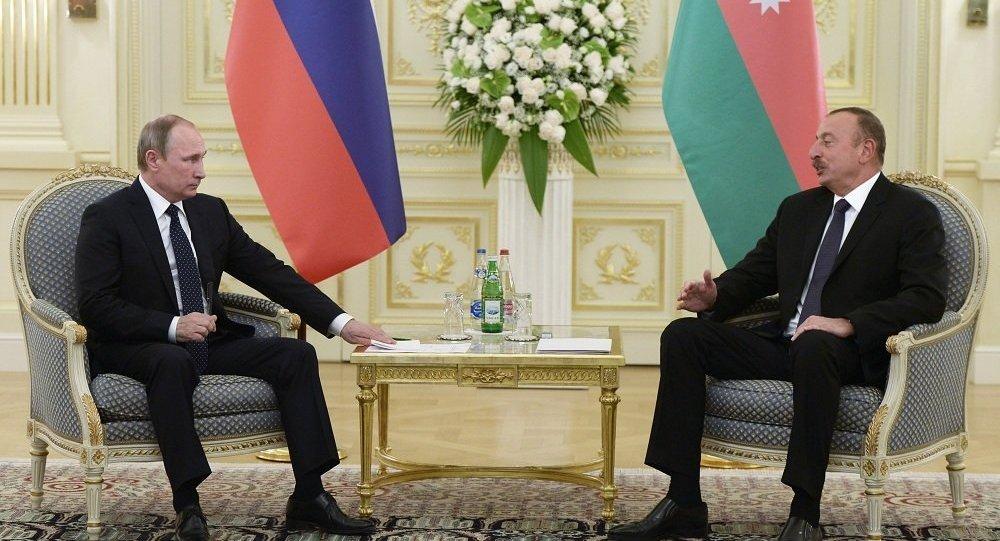 俄阿总统确认巩固战略伙伴关系意向