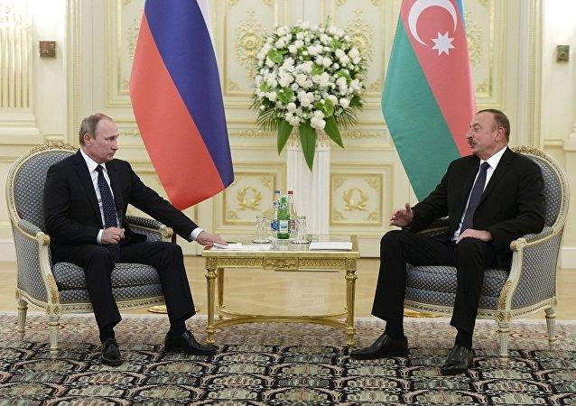 俄阿總統確認鞏固戰略夥伴關係意向