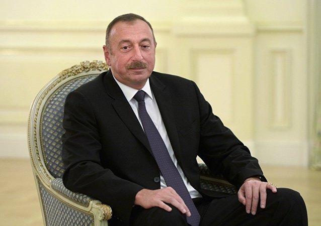 阿塞拜疆总统:巴库提议在阿塞拜疆同俄罗斯与伊朗间建立电力走廊