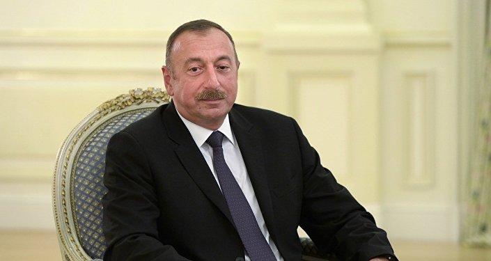 阿塞拜疆現任總統阿利耶夫被正式推舉為該國總統候選人